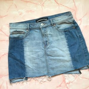 🌻3 for $25🌻Express jeans distressed skirt sz 8